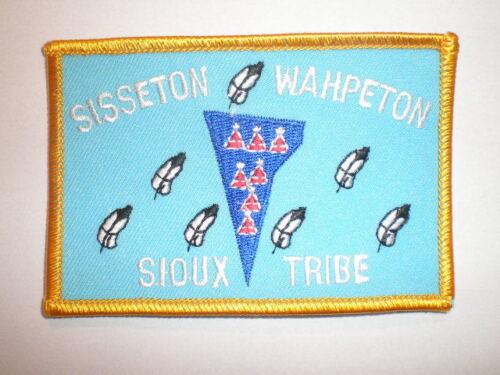 SD South Dakota Sisseton Wahpeton Sioux Tribe Lake Traverse Tribal police patch
