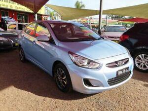 2011 Hyundai Accent RB Active Blue 4 Speed Sports Automatic Sedan Minchinbury Blacktown Area Preview