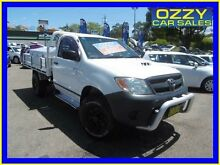2005 Toyota Hilux KUN26R SR (4x4) White 4 Speed Automatic Cab Chassis Penrith Penrith Area Preview