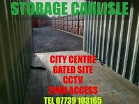 Self Storage and lock up garages Carlisle Cumbria