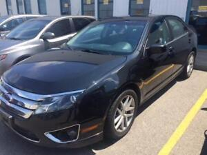 2010 FORD FUSION AWD V6 SEL/BLUE TOOTH/LEATHER/HEATED SEATS!