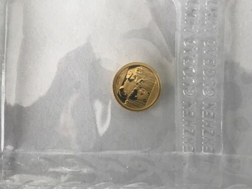 China 2017 Gold Panda 1 gram 10 Yuan. Original sealed.