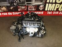JDM D17A VTEC 1.7L ENGINE WITH AUTOMATIC TRANSMISSION install