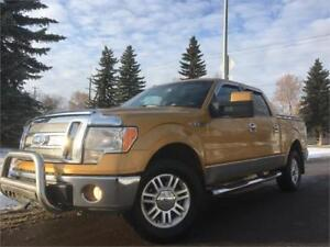 2009 Ford F-150 Lariat = CREW CAB = SHORT BOX = NAV - BACKUP CAM