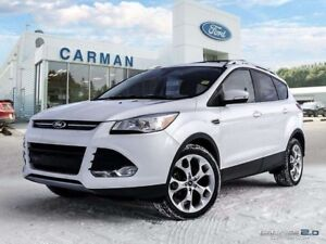 2014 Ford Escape Titanium Sunroof Leather AWD