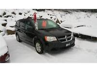 2011 DODGE GRAND CARAVAN STOW AND GO LOW KM