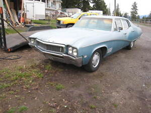 1968 Buick skylark 4 door   runs great   $1950.00 -- trades ?
