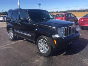 2008 Jeep Liberty Limited CLEAN LOADED 150KM!