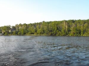 WATERFRONT LOTS: 2.5 and 2.6 acres at Lac La Peche