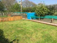 For sale chicken run with coop