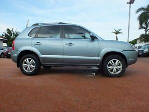 2009 Hyundai Tucson MY09 City SX Aqua Silver 4 Speed Sports Automatic Wagon Rosslea Townsville City Preview