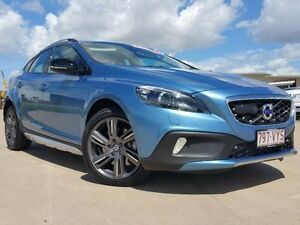 2015 Volvo V40 M Series MY15 Power Blue 8 Speed Sports Automatic Hatchback Garbutt Townsville City Preview