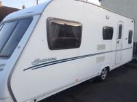 2007 Sterling Europa 530 with motor mover and awning