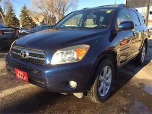 2006 Toyota RAV4 2.4L LIMITED AWD  SAFETIED, FINANCING