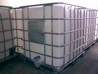 ibc tanks - plastic tanks only no cage