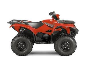 YAMAHA GRIZZLY DAE ROUGE/VERT  2017