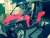 2011 CanAm Commander 100 xt with trailer
