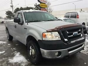 2007 Ford F-150 XL - Regular Cab - 8 Ft Box - 4x4