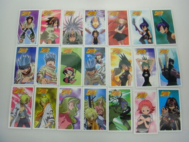 Japanese Anime TOMY Shaman King Menko Megamen Card x113 pages