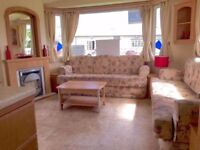 ☀☀3 BED STATIC CARAVAN FOR SALE WITH 2018 FEES INC ON 12 MONTH SEASON - WOODLAND PARK ON COAST☀☀
