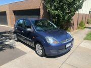 2006 Ford Fiesta WQ LX Blue 4 Speed Automatic Hatchback Maidstone Maribyrnong Area Preview