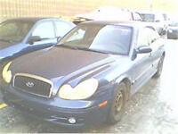 2003 Hyundai sonata appeler au 514 817-0095