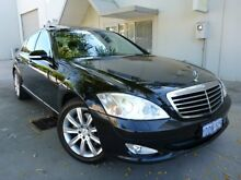 2009 Mercedes-Benz S350 W221 Black 7 Speed Automatic Sedan Willagee Melville Area Preview