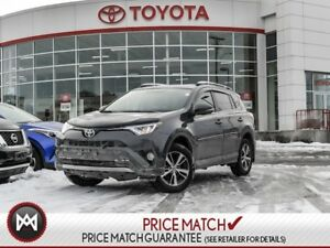 2016 Toyota RAV4 XLE: SUNROOF, FOG LIGHTS, DUAL ZONE CLIMATE