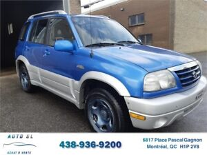 ***2004 SUZUKI GRAND VITARA***4X4/V6 2.5L/MANUEL/IMPECCABLE
