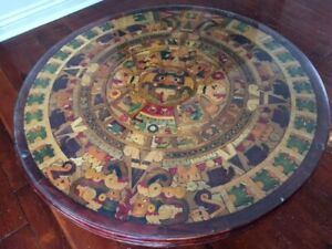 Table calendrier Maya (Mexique)