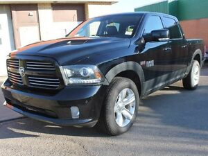 2014 Ram 1500 SPORT/ RAMBOX/ CREW CAB/ LEATHER/ NAV/ SUNROOF