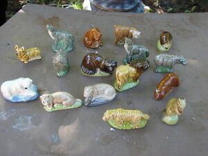 Animals figurine porcelain