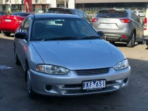 2001 Mitsubishi Lancer CE GLi Silver 5 Speed Manual Coupe Burwood Whitehorse Area Preview