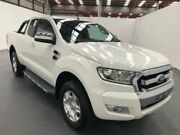 2015 Ford Ranger PX MKII XLT SUPER CAB White Manual Freestyle Utility Fyshwick South Canberra Preview