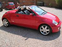 2003 03 Ford Streetka 1.6 Convertable Luxury Gleaming Red