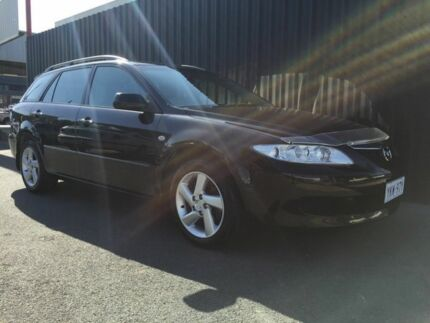 2004 Mazda 6 GY Classic Black 4 Speed Auto Activematic Wagon Phillip Woden Valley Preview