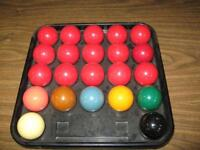 SNOOKER POOL BALL SET - USED Winnipeg Manitoba Preview