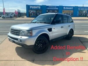 2006 Land Rover Range Rover Sport L320 06MY TDV6 Silver 6 Speed Sports Automatic Wagon Fyshwick South Canberra Preview