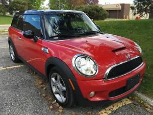 2010 MINI COOPER CLUBMAN S, CERTIFIED, 6 SPEED MANUAL