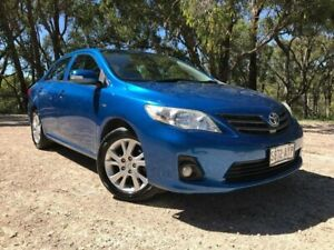 2013 Toyota Corolla ZRE152R Ascent Sport Blue 4 Speed Automatic Sedan Bridgewater Adelaide Hills Preview
