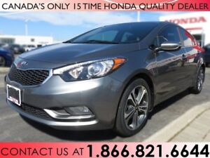 2014 Kia Forte EX | 1 OWNER | NO ACCIDENTS