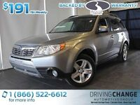 2009 Subaru Forester 2.5X Limited-Moon Roof-Heated Leather Seats