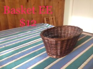 Various Wicker Baskets & Cases #5