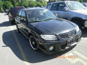 2002 MAZDA PROTEGE 5 FOR PARTING OUT