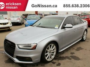 2015 Audi A4 2.0T Progressiv - LEATHER, NAVIGATION, SUNROOF