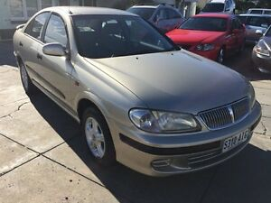 2004 Nissan Pulsar N16 MY2004 ST Gold 5 Speed Manual Sedan Park Holme Marion Area Preview