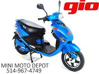 SPECIAL Scooter électrique GIO Italia $799.99 EBIKE 514-967-4749