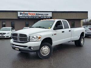 2008 Dodge Ram 3500 QUAD CAB DUALLY 4X4 DIESEL