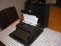Royal Portable Type Writer