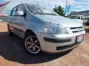 2005 Hyundai Getz TB MY05 GL Clean Silver 5 Speed Manual Hatchback Rosslea Townsville City Preview